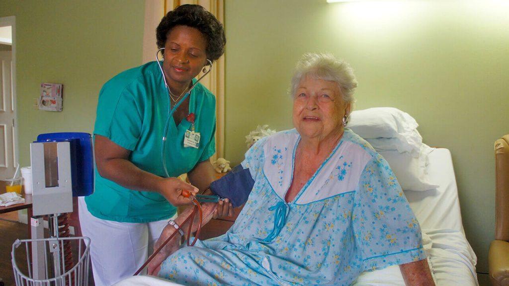 regent-park-sunrise-nurse-and-patient