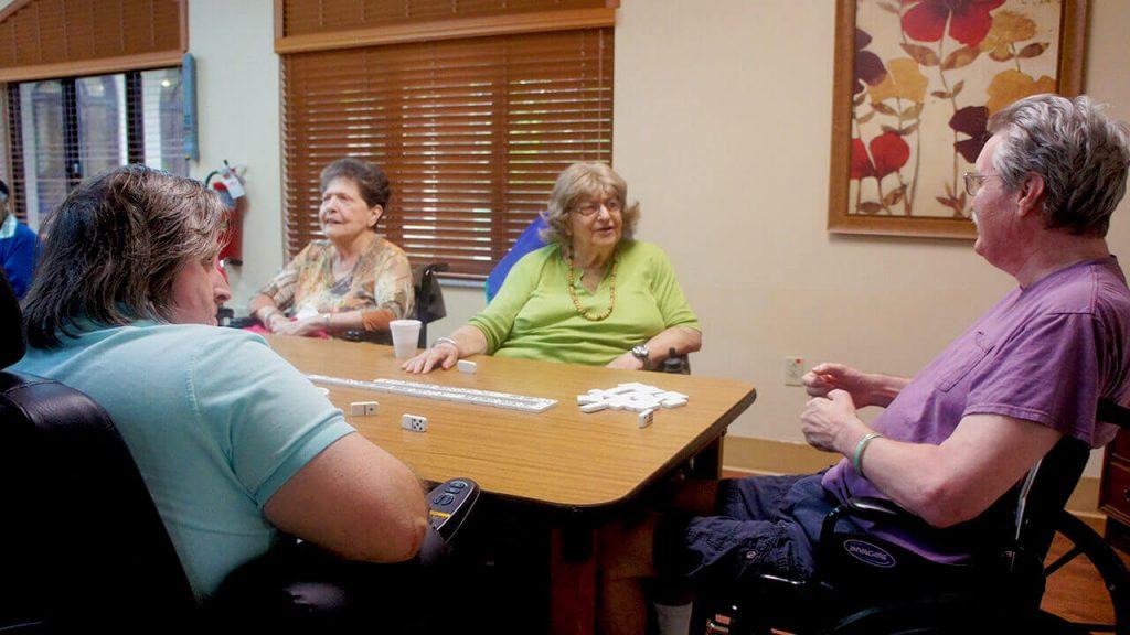 regent-park-sunrise-patients-play-dominos